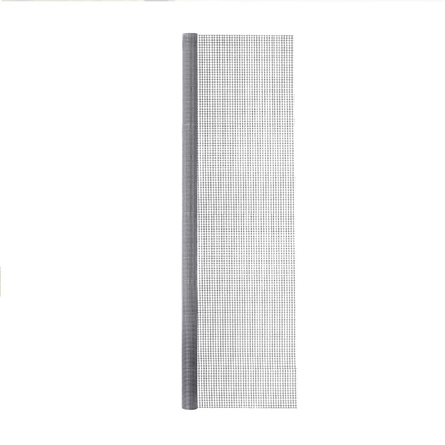 Garden Zone  36 in. W x 25 ft. L Silver Gray  Steel  Hardware Cloth  1/4 in.