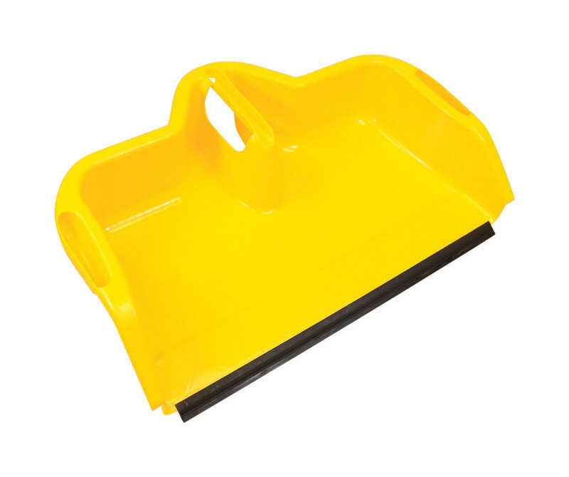 Quickie  JobSite Gargantuan  Polypropylene  Wide Mouth  Dust Pan