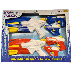 Water Sports  Battle Pack  Assorted  Plastic  Water Gun Set