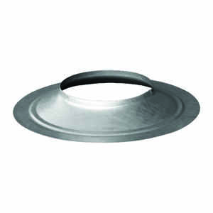 Duravent  4 in. Dia. 24 Ga. Galvanized Steel  Storm Collar