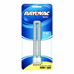 Rayovac  Fluorescent  Flashlight Bulb  60 volt 4-Pin Base