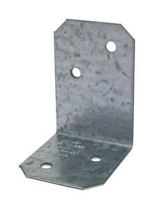 Simpson Strong-Tie  1.5 in. H x 2 in. W x 1.4 in. L Galvanized Steel  Angle