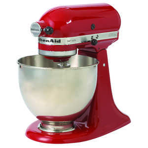 Kitchenaid Stand Mixer Artisan 5 qt. 10 Empire Red, Silver 325 watts
