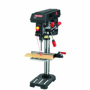 Craftsman  1/2 in. Drill Press  5/8 hp 10 in. W x 14 in. H 3100 rpm 1 pc.