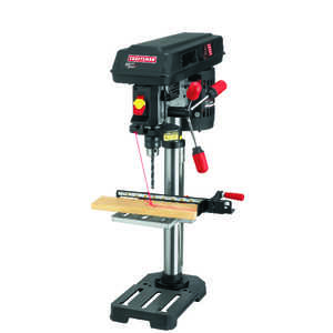 Craftsman  1/2 in. Drill Press  14 in. H x 10 in. W 5/8 hp 3100 rpm 1 pc.