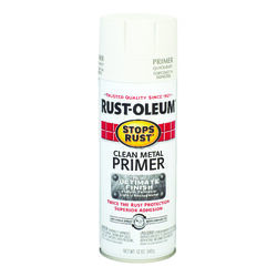 Rust-Oleum  Stops Rust  White  Oil-Based  Alkyd  Primer  12 oz.