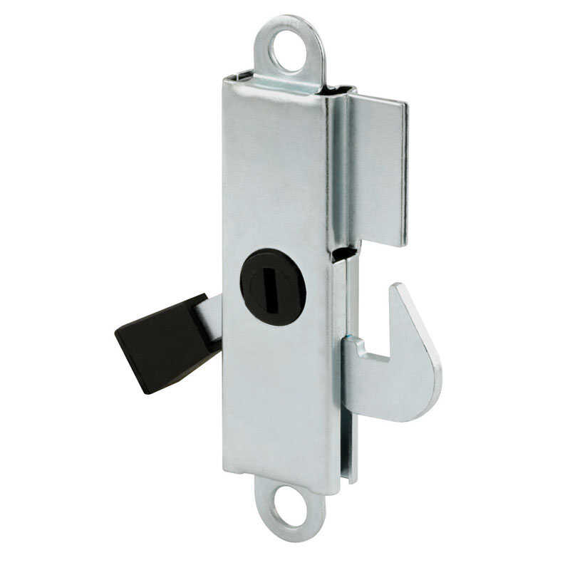 Prime-Line  Assorted  Aluminum  Patio Door Latch  1 pk