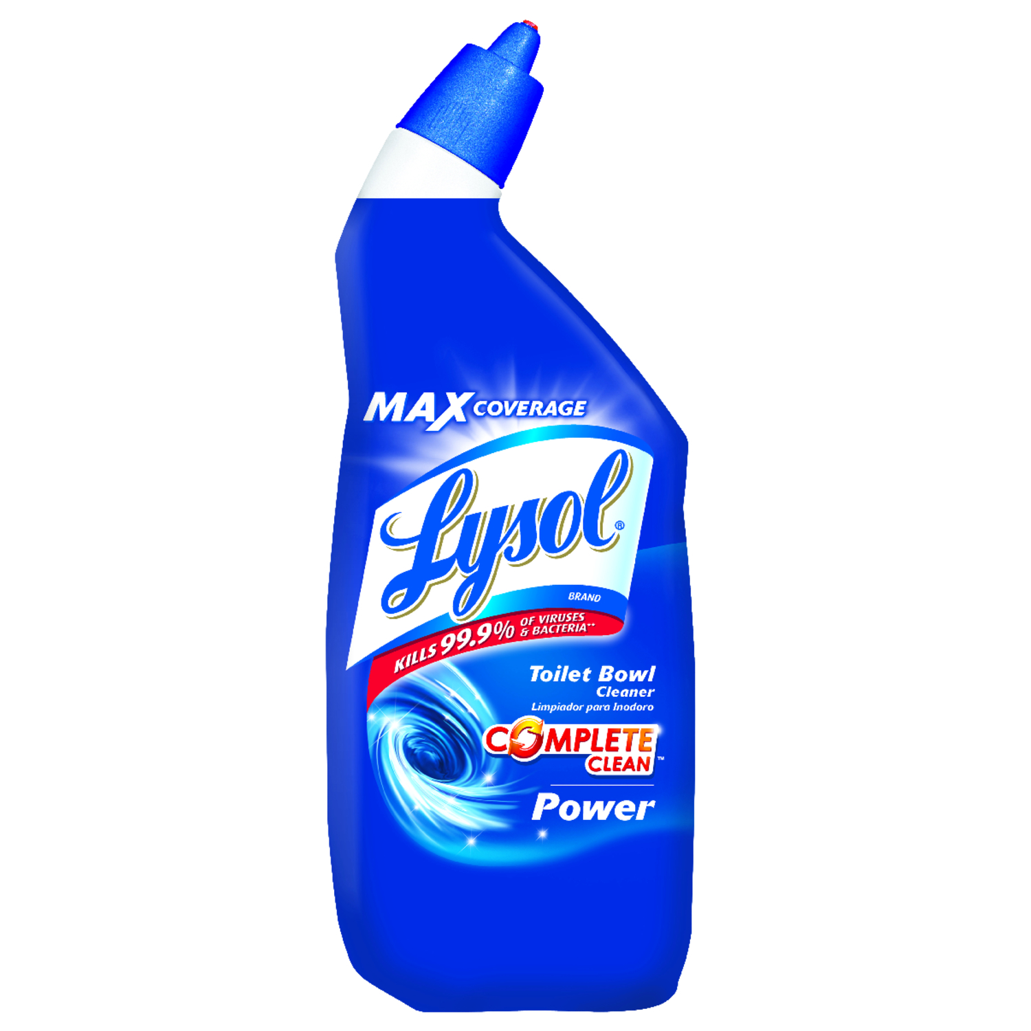 Lysol Complete Clean Clean Scent Toilet Bowl Cleaner 24 Oz Gel