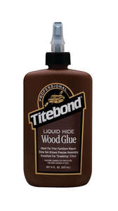 Titebond  Liquid Hide  Translucent  Wood Glue  8 oz.