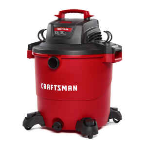 Craftsman  20 gal. Corded  Wet/Dry Vacuum  12 amps 120 volt Red  30 lb.
