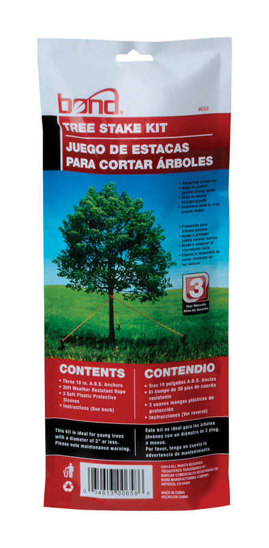 Bond Manufacturing  10 in. H Plastic  Tree Stakes