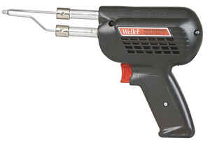 Weller  Cooper Tools  12 in. Corded  Soldering Gun Kit  260 watts Black  1