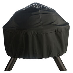 Traeger  Black  Grill Cover  For Traeger Outdoor Fire Pit/Grill 11.5 in. W x 2.5 in. H