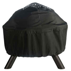 Traeger  Black  Grill Cover  11.5 in. W x 13 in. D x 2.5 in. H For Traeger Outdoor Fire Pit/Grill