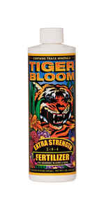 FoxFarm  Tiger Boom Extra Strength  Organic Fertilizer  1 pt.