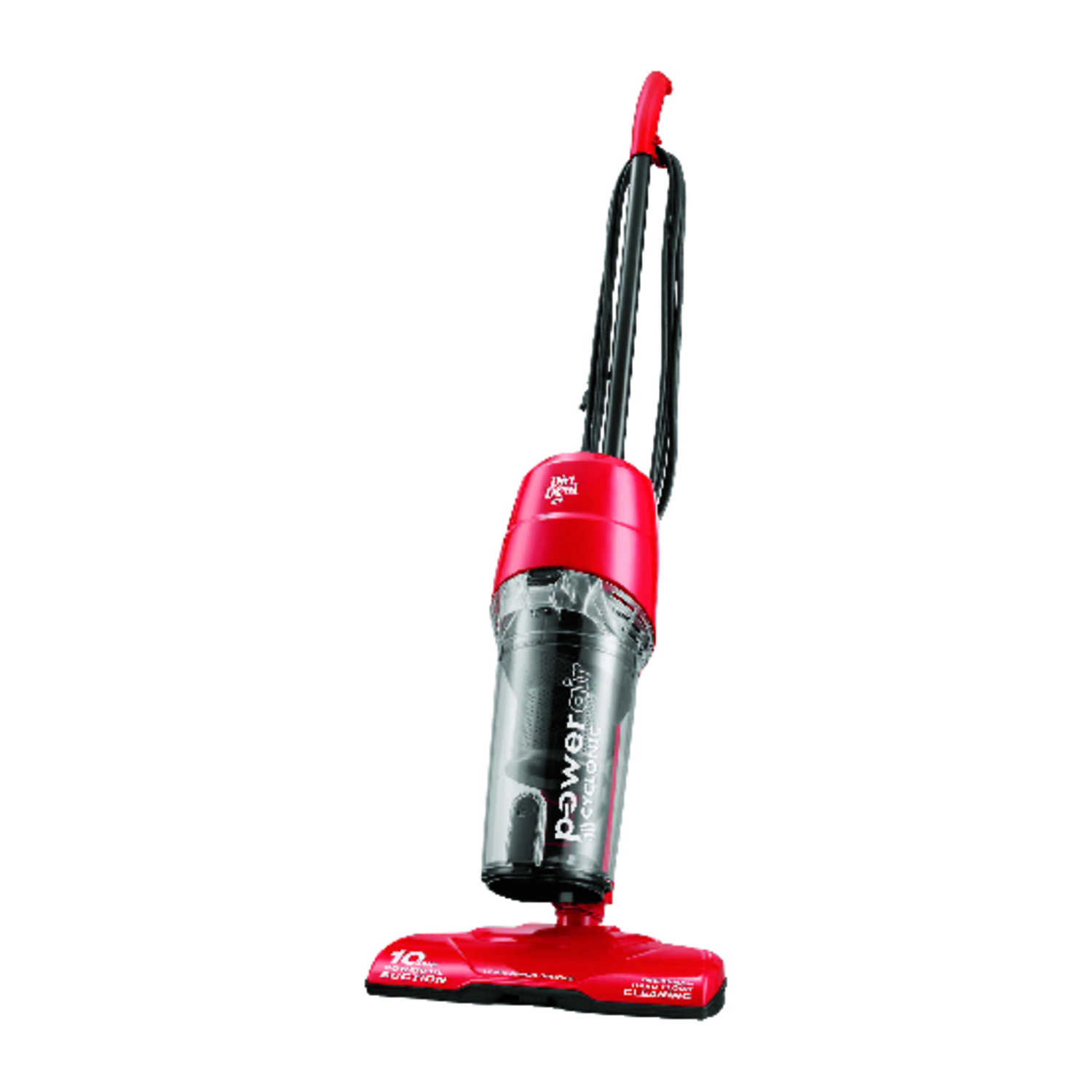 Dirt Devil  Power Air  Bagless  Stick Vacuum  10 amps Cyclonic  Red