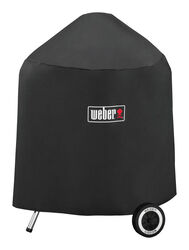 Weber  Black  Grill Cover  For 18 inch Weber charcoal grills 20.5 in. W x 32.5 in. H