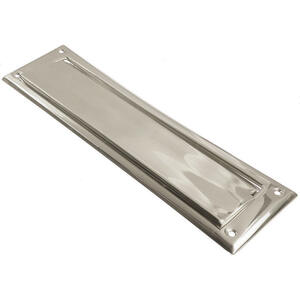 Ace  Satin Nickel  Mail Slot  Mounting Hardware Included