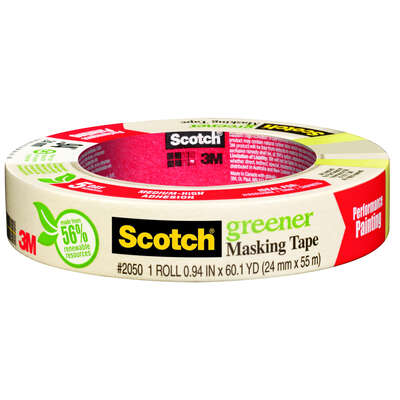 Scotch 0.94 in. W x 60.1 yd. L Beige Medium Strength Masking Tape 1 pk