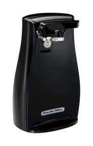 Proctor Silex  Black  Electric Can Opener  Magnetic Lid Holder 120 volt
