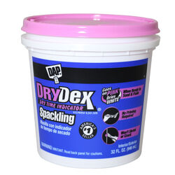 DAP  DryDex  Ready to Use White  Spackling Compound  1 qt.