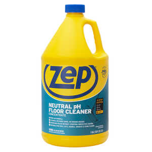 Zep  No Scent Floor Cleaner  128 oz. Liquid