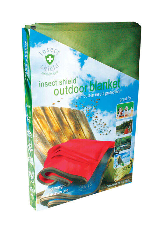 Insect Shield  Organic Blanket  For Mosquitoes/Ticks 1 pk