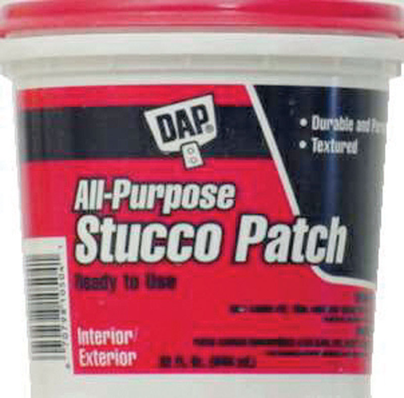 Dap  1 qt. Indoor and Outdoor  Stucco Patch