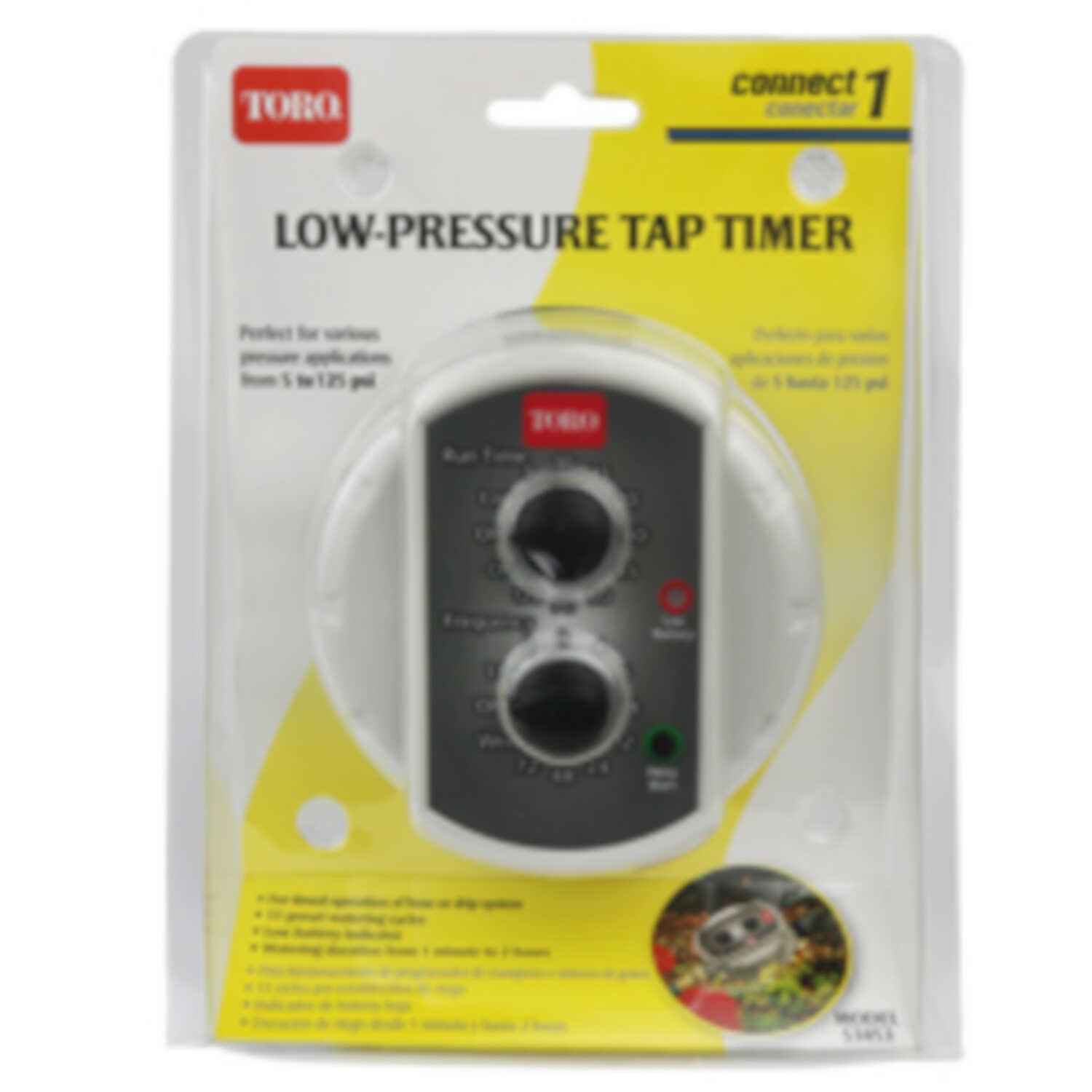 Toro  Programmable 1 zone Low-Pressure Tap Timer
