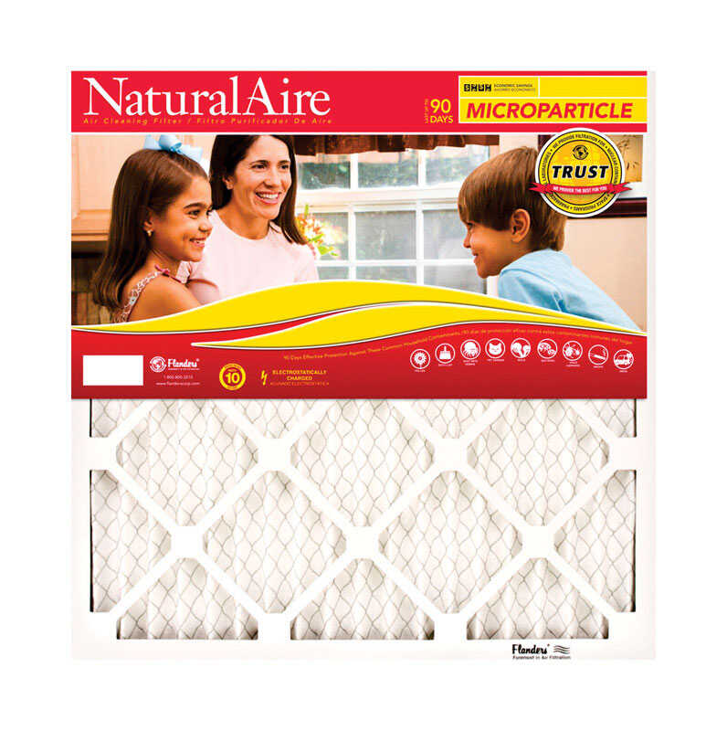AAF Flanders  NaturalAire  24 in. H x 18 in. W x 1 in. D Polyester  Air Filter