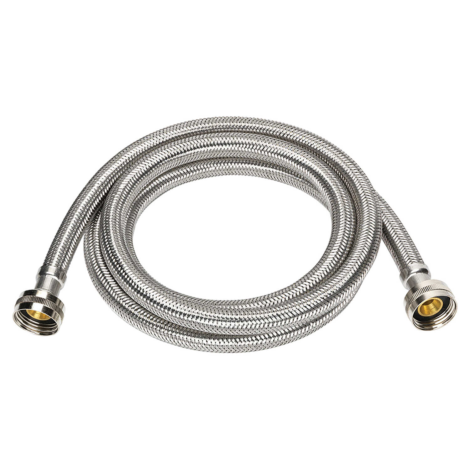 Ace  3/4 in. FIP   x 3/4 in. Dia. FIP  Stainless Steel  4 ft. Supply Line
