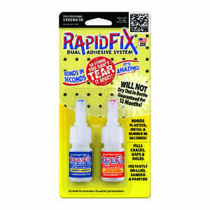 Rapid Fix  High Strength  Dual Adhesive  10ML