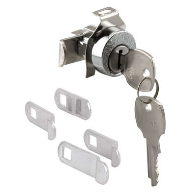 Prime-Line Nickel Steel Counter Clockwise Mailbox Lock