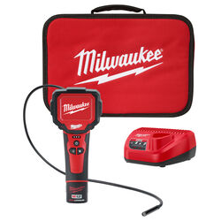 Milwaukee  13.2 in. L x 8.9 in. W Wireless  M-Spector  Video Inspection System  Red  1 pc.