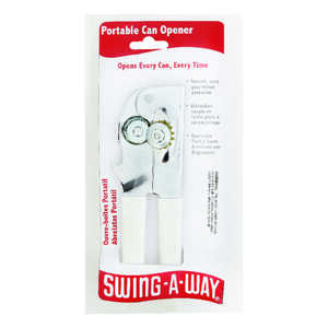 Swing-A-Way  Steel  Can Opener  Manual