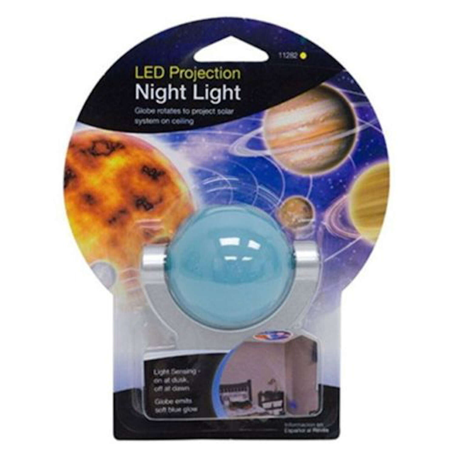 GE  Projectables  Automatic  Plug-in  Solar System  LED  Night Light