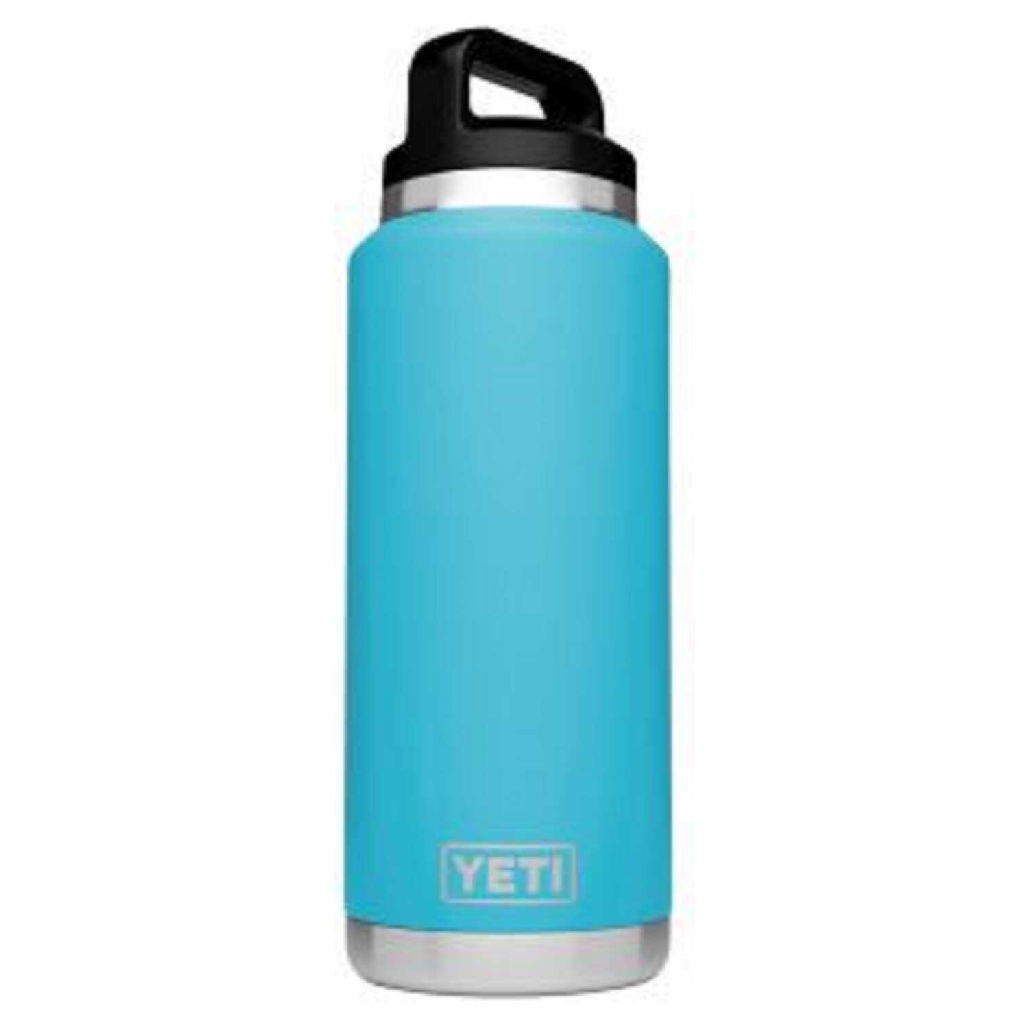 YETI  Reef Blue  Stainless Steel  Insulated Bottle  BPA Free 36 oz.