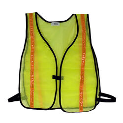 C.H. Hanson Reflective Polyester Mesh Safety Vest Fluorescent Green One Size Fits All
