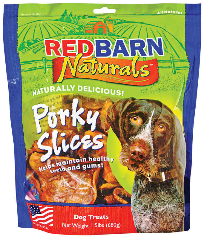 Redbarn  Naturals  Porky Slices  Dog  Grain Free Chews  1 pk