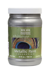 Modern Masters  Silver  Protective Enamel  1 qt.