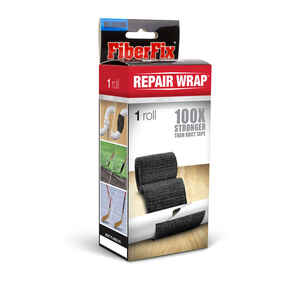 FiberFix  2 in. W x 50 in. L Black  Tape