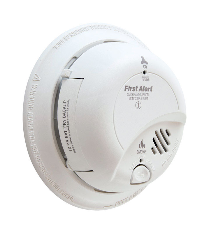 First Alert  Hard-Wired with Battery Back-up  Electrochemical/Ionization  Smoke and Carbon Monoxide