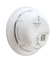 First Alert  Hard-Wired w/Battery Back-up  Electrochemical/Ionization  Smoke and Carbon Monoxide Det