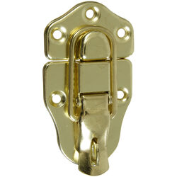 National Hardware  Brass-Plated  Steel  3-1/4 in. Lockable Drawer Catch