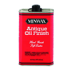 Minwax  Transparent  Amber  Oil-Based  Antique Oil Finish  1 pt.