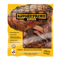 Savory Prime  All Size Dogs  All Ages  Rawhide Chips  Beef  6 in. L 1 pk