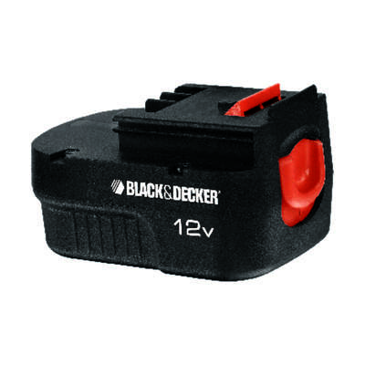 Black and Decker  12 volt Ni-Cad  Battery Pack  1 pc.