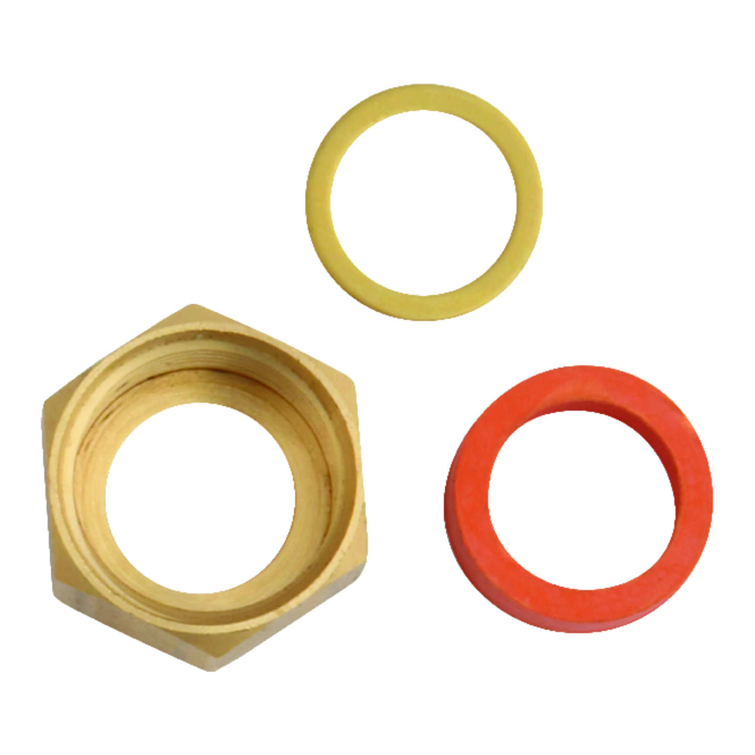 Ace  Brass  Faucet Coupling Nut  1/2 in. Dia.