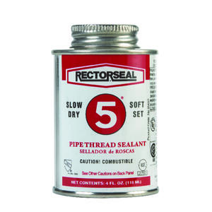 Rectorseal  Yellow  Pipe Thread Sealant  4 oz.