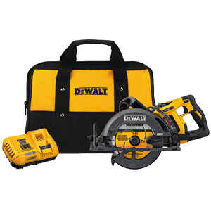 DeWalt  Flexvolt  7-1/4 in. Cordless  60 volt Worm Drive Circular Saw  Kit  5800 rpm